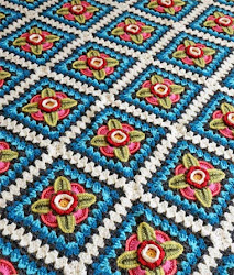Mexican Diamonds Blanket