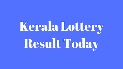 Kerala Lottery Result Today