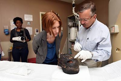 Ancient mummies meet modern technology