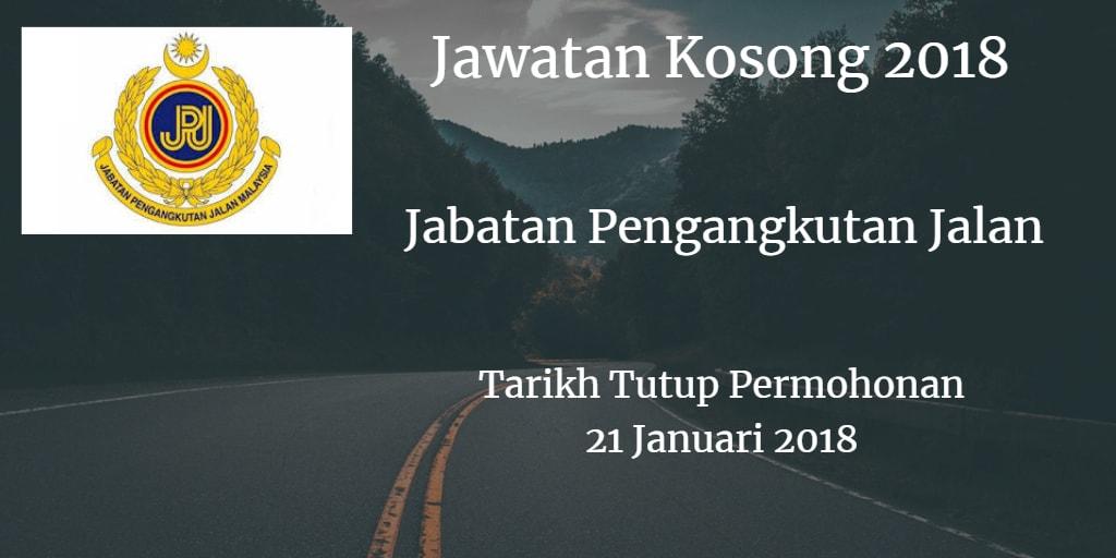 Jawatan Kosong JPJ 21 Januari 2018