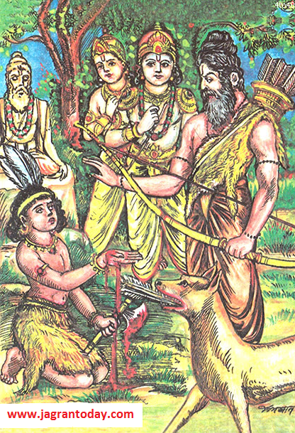 Why Shree Krishna Slaught Murder Aklavya