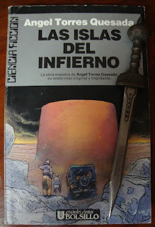 Portada del libro Las islas del infierno, de Ángel Torres Quesada
