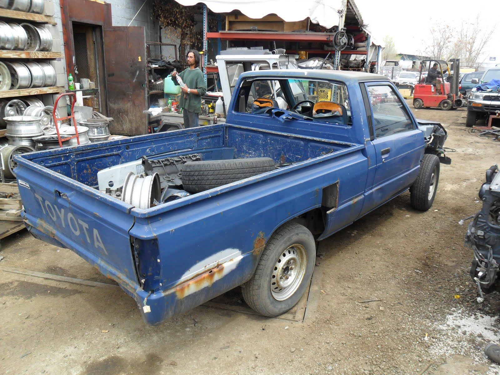 Toyota Pickup Parts >> New Arrivals At Jim S Used Toyota Truck Parts 1985 Toyota
