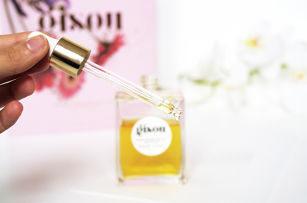 Elizabeth l Beauty review Gisou hair oil negin mirsalehi blog beauté l THEDEETSONE l http://thedeetsone.blogspot.fr