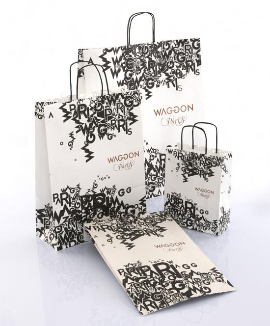 In túi giấy giá rẻ tại Hà Nội, túi giấy kraft cao cấp mẫu mã đẹp Waggon