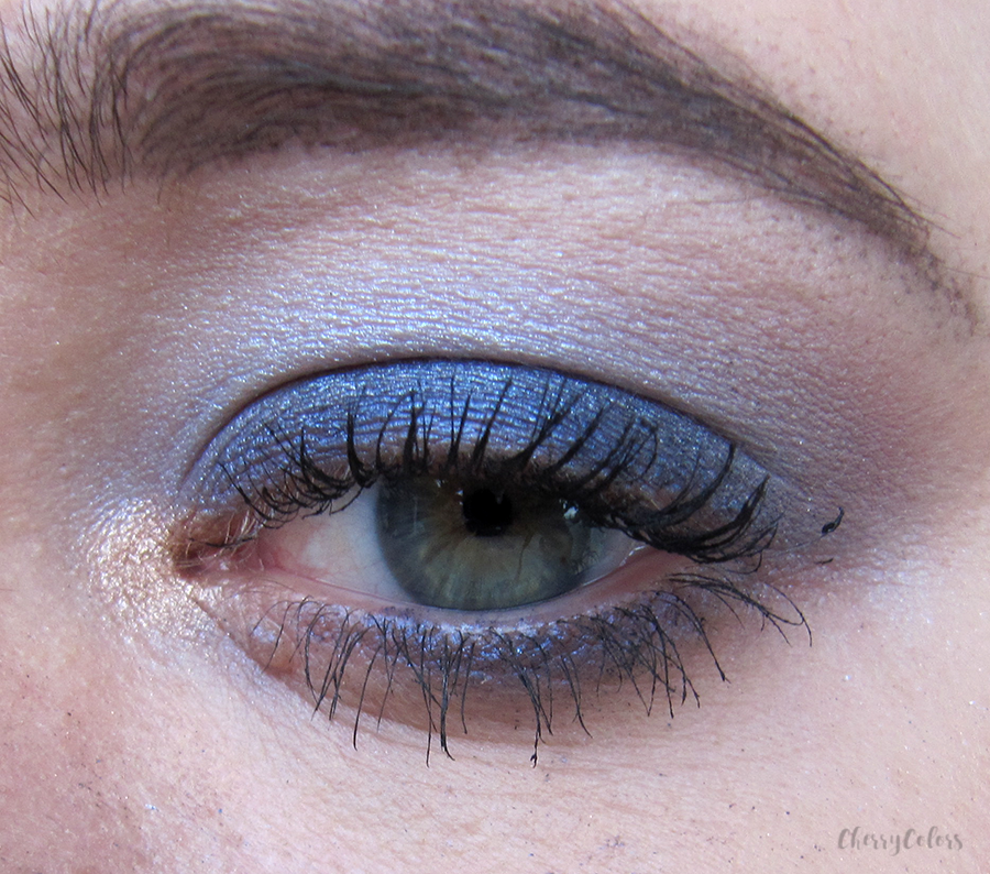 Blue Sparkle Makeup