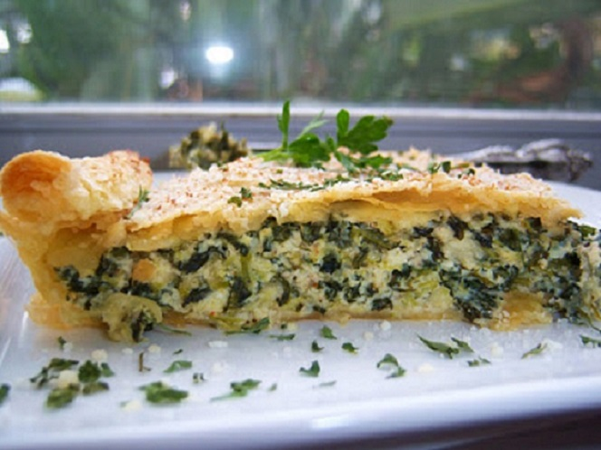 These are recipes for side dishes and the best appetizers including this spinach pie.