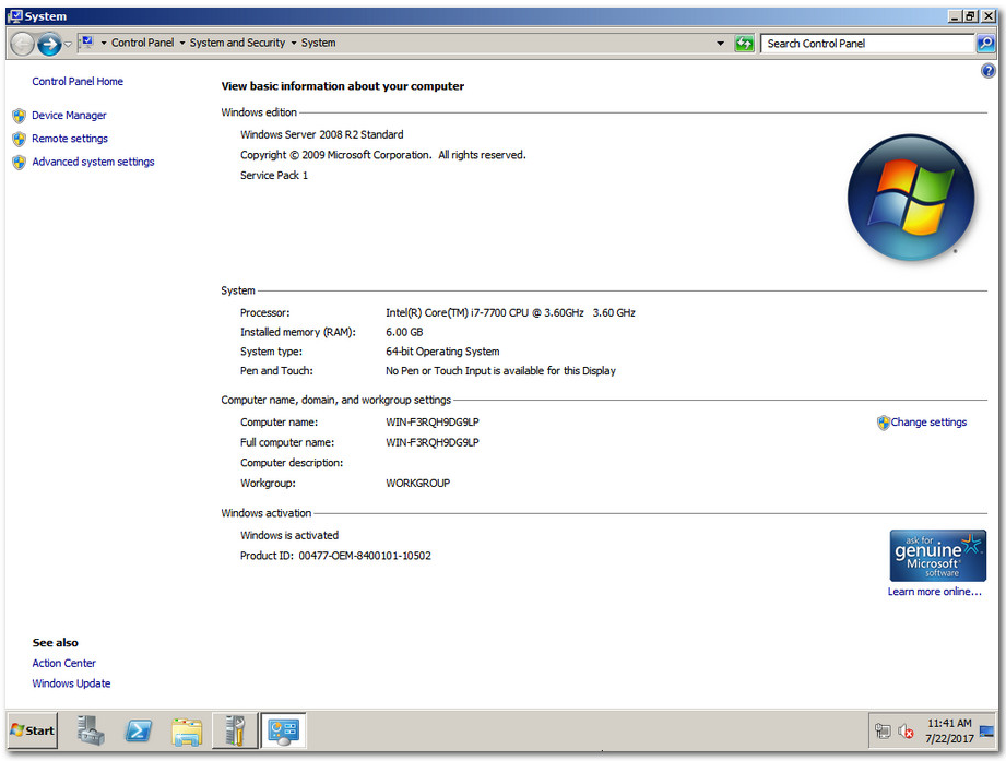 CRACK Windows Server 2008 R2 SP1 X64 ESD PTB NOV 2018 {Generation2}