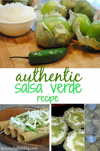 authentic salsa verde - green salsa recipe