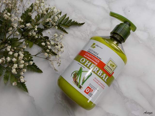 Odżywka wzmacniająca włosy z ekstraktem z korzenia tataraku, O'Herbal