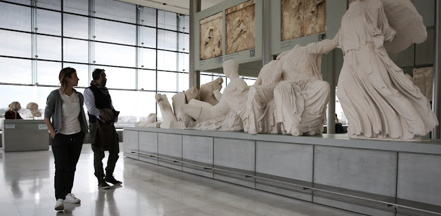 Director of British Museum insists Parthenon Sculptures do not belong to Greece