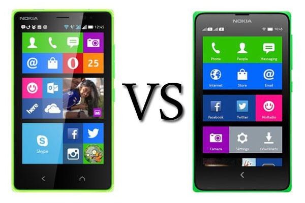 Ini Dia Perbandingan antara Nokia X dengan Nokia X2