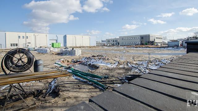 W tym miejscu powstanie budynek biurowy firmy Oponeo przy ulicy Podleśnej w Bydgoszczy