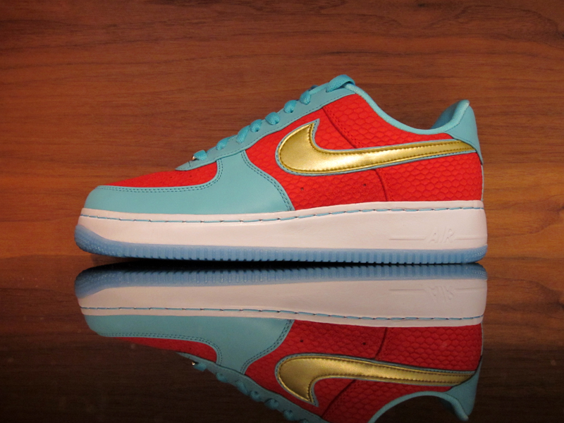 1a2f4af8d7b Nike Air Force 1 Low Supreme Inside-Out Year of The Sea Dragon NRG. Sport  Red