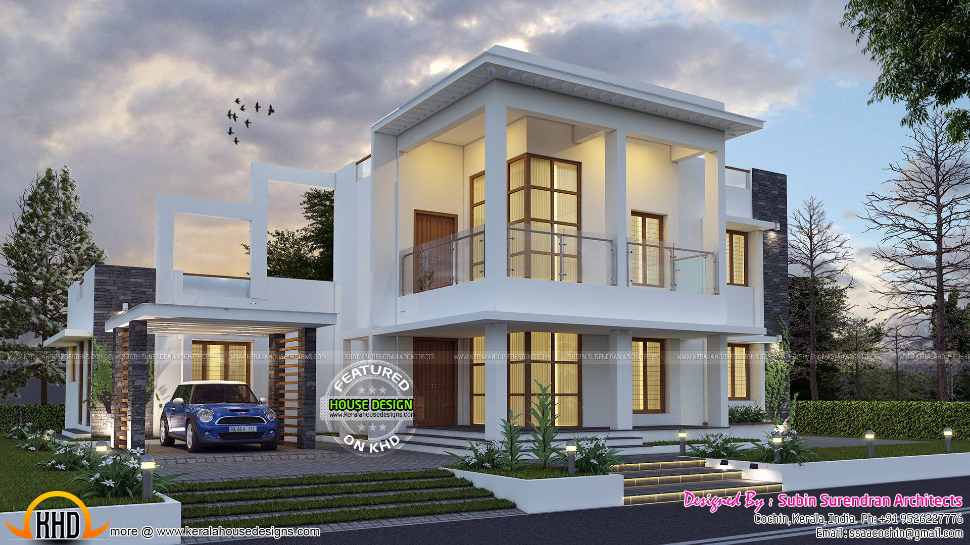 3116 sq ft contemporary house architecture kerala home for House planning help