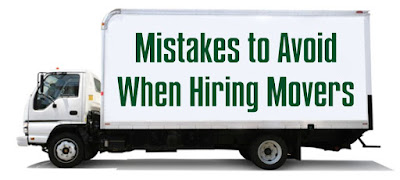 mistakes to avoid while hiring packers movers