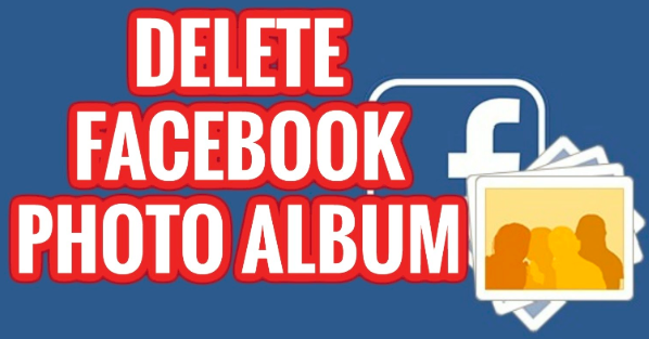 How to delete albums off of facebook