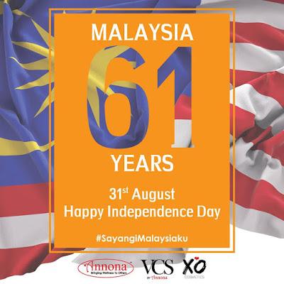 Selamat Hari Kemerdekaan Malaysiaku yang ke-61