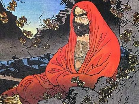 bodhidharman at shaolin temple
