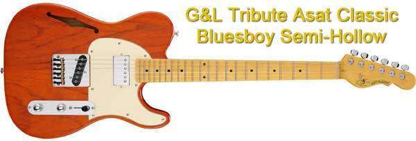 Guitarra Telecaster G&L ASAT Classic Bluesboy Semi-Hollow