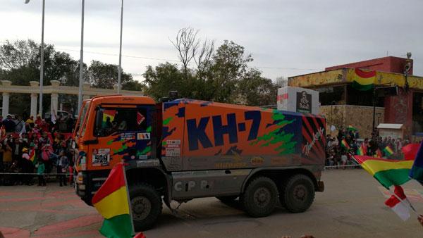 Fotos y video Dakar 2018 y su paso por Villazón
