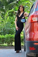 Sakshi Chaudhary in beuatiful black Deep neck Top and trousers at oollo pelliki kukka ~  Exclusive Galleries 037.jpg