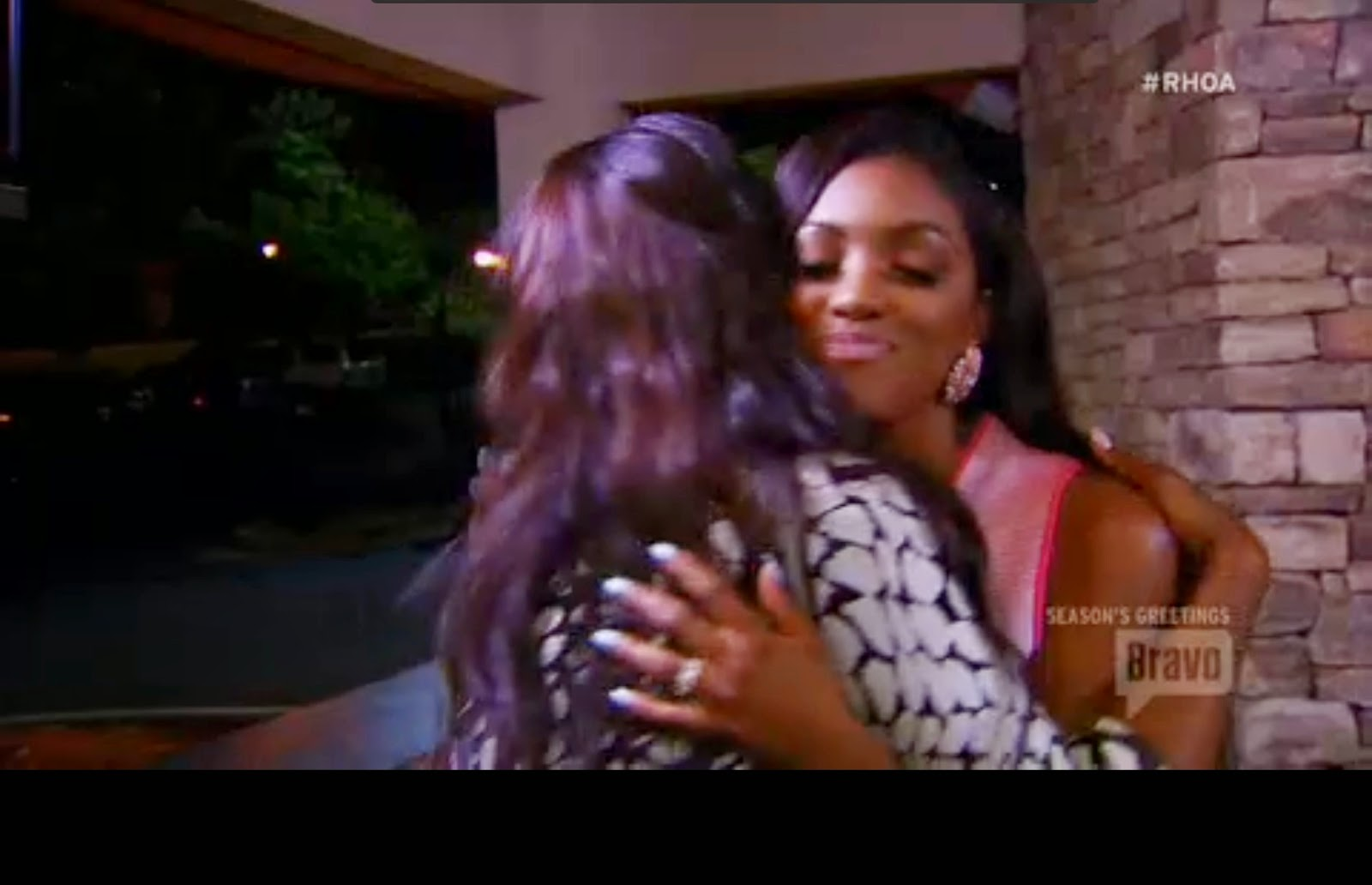 Porsha and Kenya make up