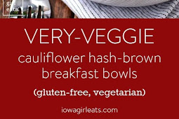 Very-Veggie Cauliflower Hash Brown Breakfast Bowl