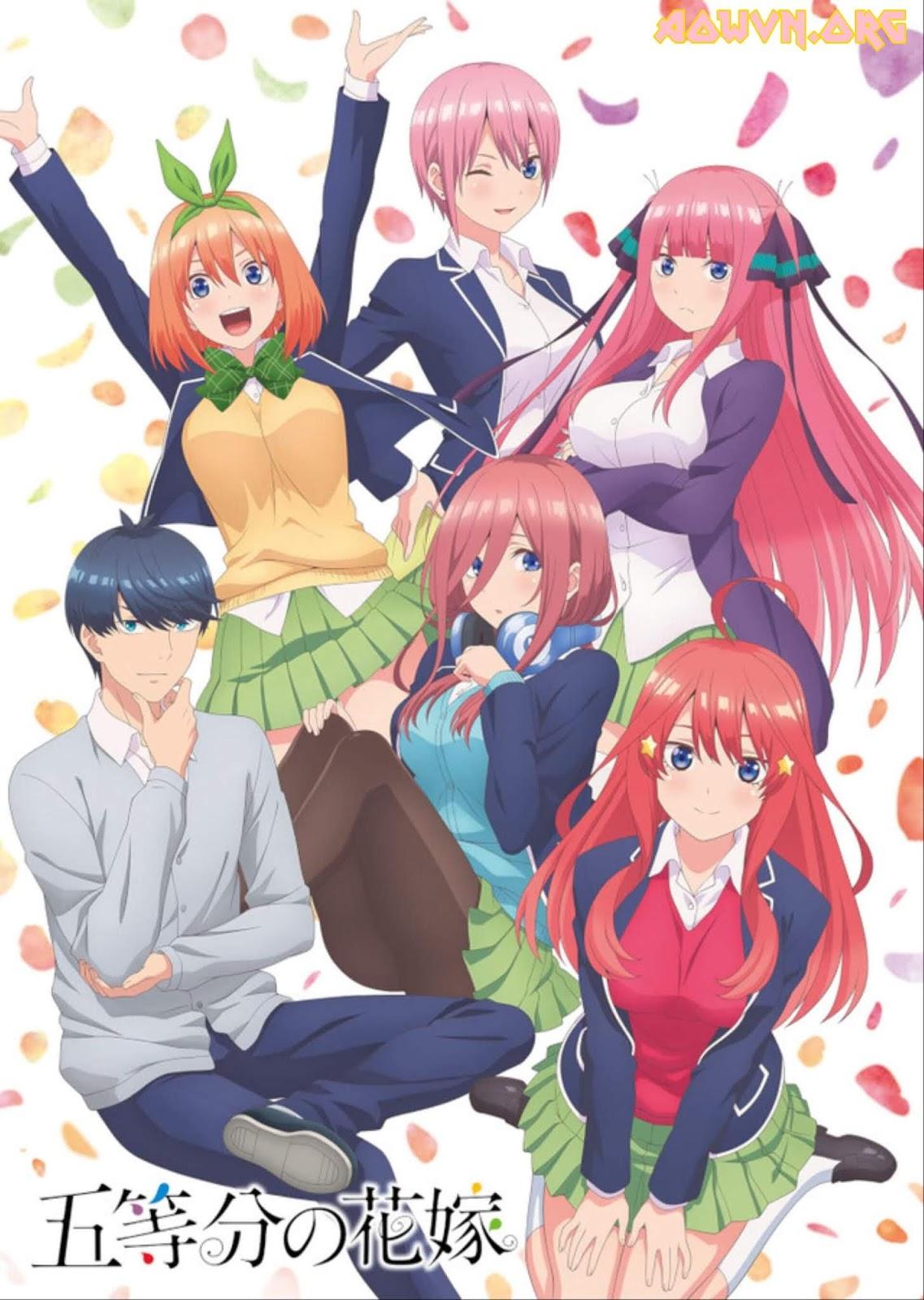2018122916193699 - [ Anime 3gp Mp4 | Ep 2 ] Gotoubun no Hanayome - Vietsub - Cực hay!!