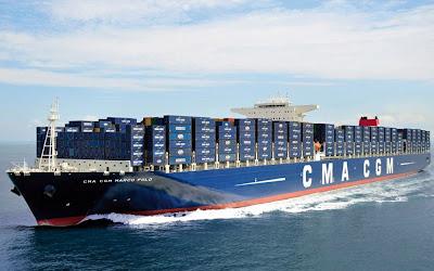 Segundo maior navio cargueiro do mundo