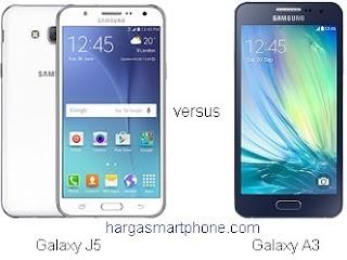 Harga dan Perbedaan Samsung Galaxy J5 dengan A3