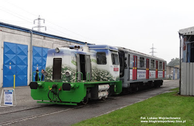 Lokomotywa 703 821-9 i wagon Метровагонмаш 81, Vítkovické metro