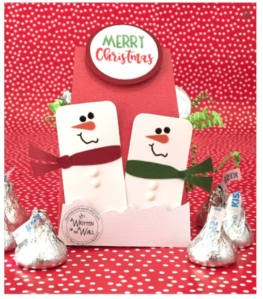 Merry Snowman Treat Boxes, Party Favors
