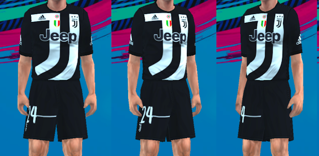 detailed look d1f44 5ec73 Juventus Digital 4th Kits PES PSP (PPSSPP)