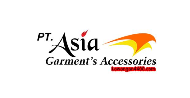 Lowongan Kerja PT. Asia Garments Accessories Bekasi