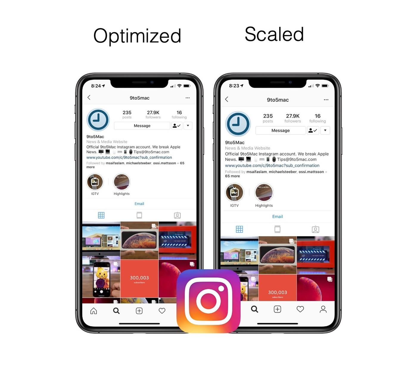 b32456a01ccd3 Instagram Breaks Support for iPhone XR and XS Max / Digital ...