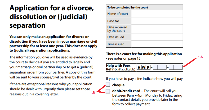 Who is the petitioner in a divorce case