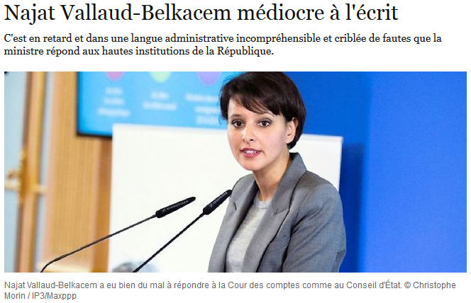 http://www.lepoint.fr/editos-du-point/sophie-coignard/najat-vallaud-belkacem-mediocre-a-l-ecrit-29-04-2015-1924971_2134.php