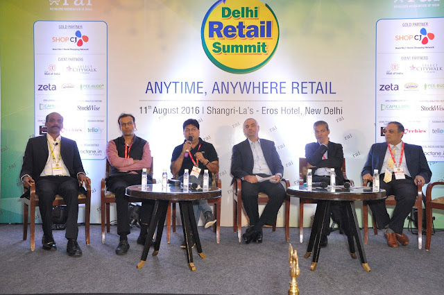 Retailers Association of India's Delhi Retail Summit 2016 brings together retailers across formats to discuss 'Anytime, Anywhere Retail'