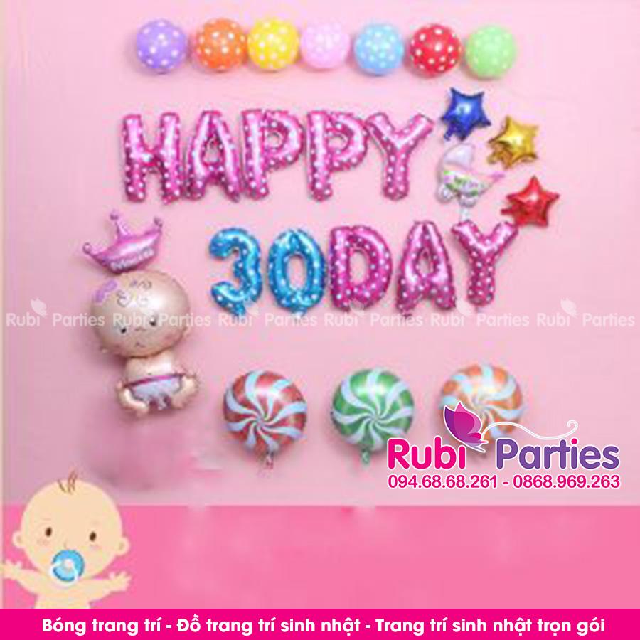 Bong trang tri day thang cho be o Phu Lam