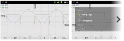 Osciprime Oscilloscope Legacy Android.