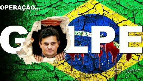 Image result for charges sobre sergio moro