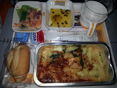 comer avião