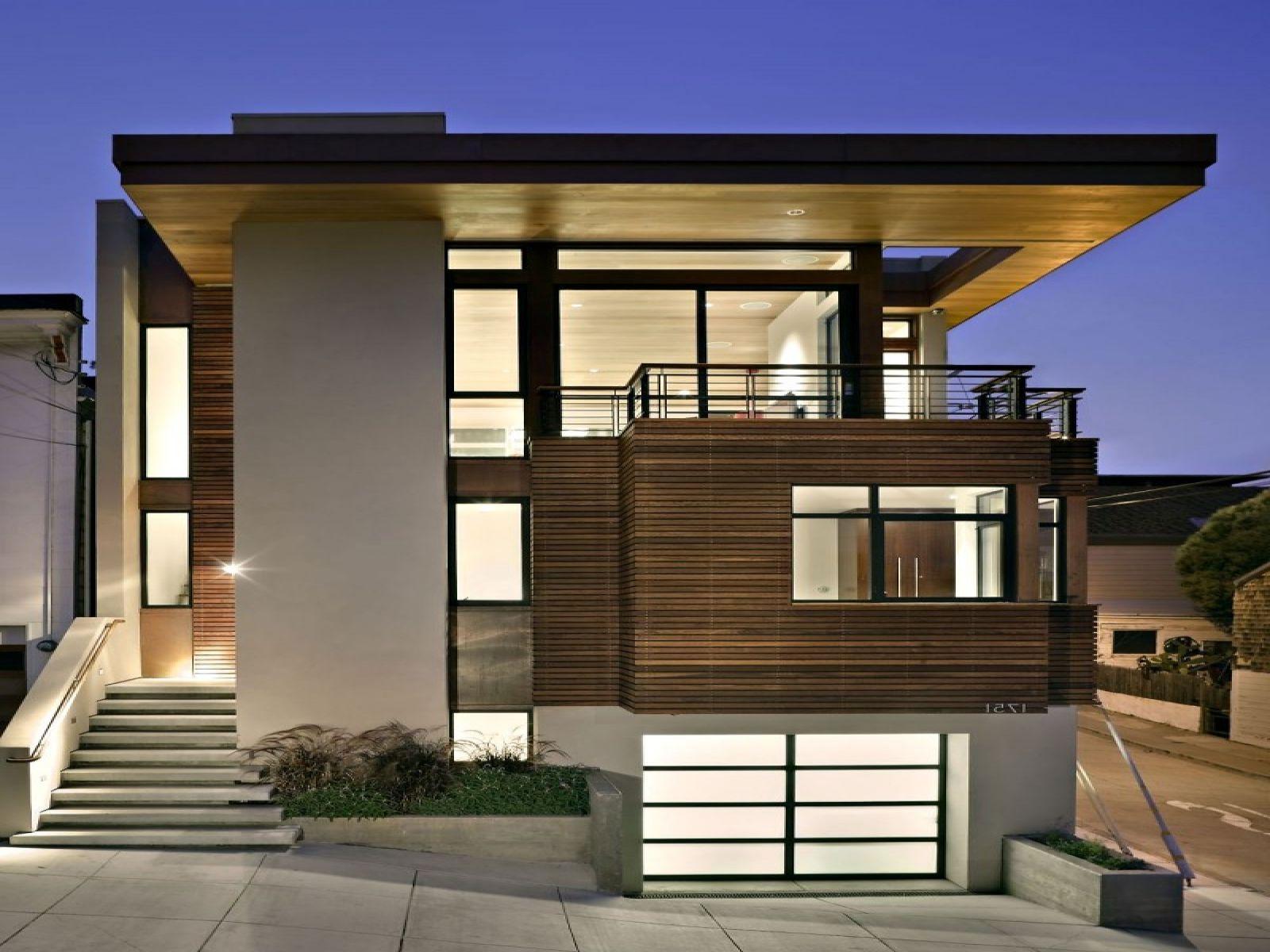 60 Desain Idaman Rumah Modern Masa Kini - Rumahku Unik