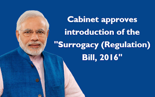 Spotlight : Surrogacy (Regulation) Bill, 2016