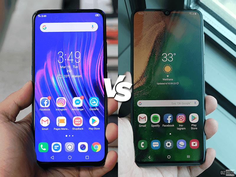 Vivo V15 Pro vs Samsung Galaxy A70 Specs Comparison