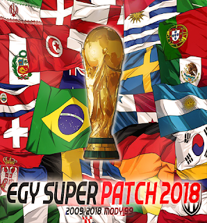 PES 2018 EGY Super Patch 2018 v4 By MODY 99 World Cup 2018 Edition
