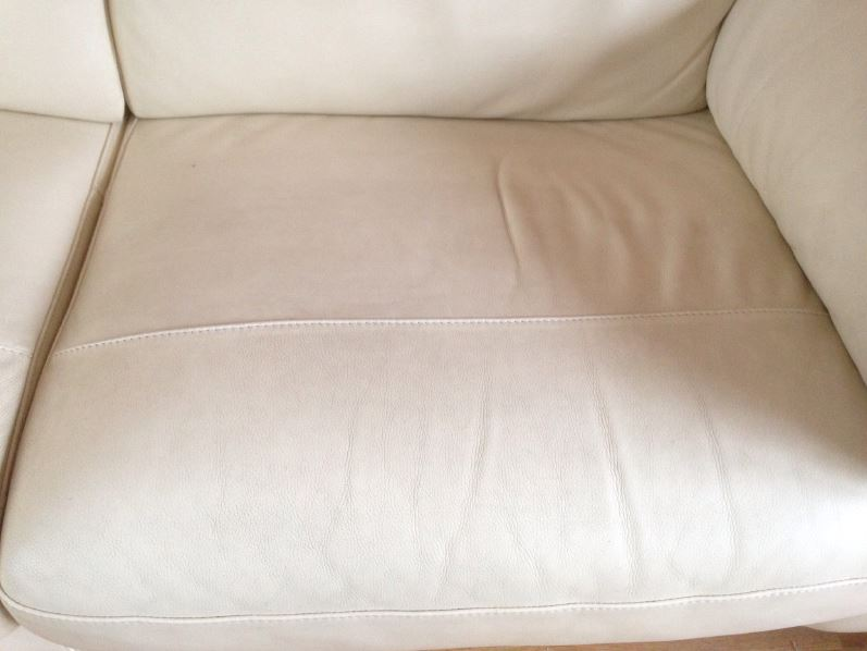 how to clean leather sofa daily