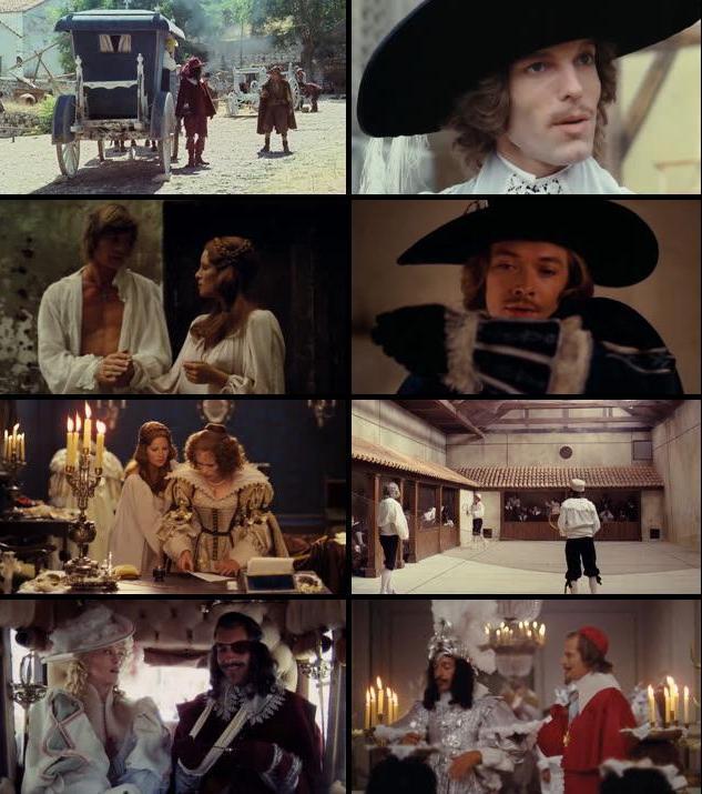 Screen shot of The Three Musketeers (1973) Dual Audio Hindi 720P BRriP 1GB world4ufree