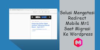 Mengatasi Redirect Mobile M=1